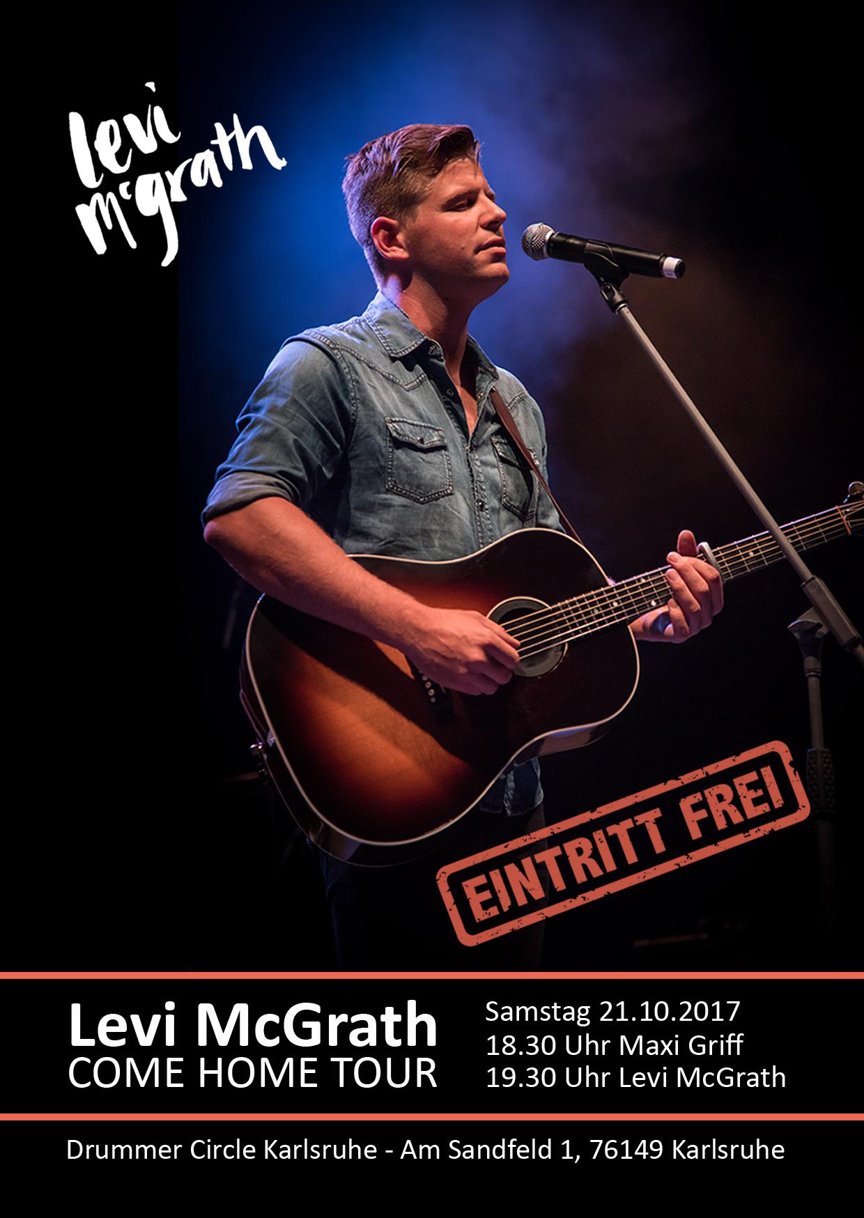 Levi McGrath - Konzert