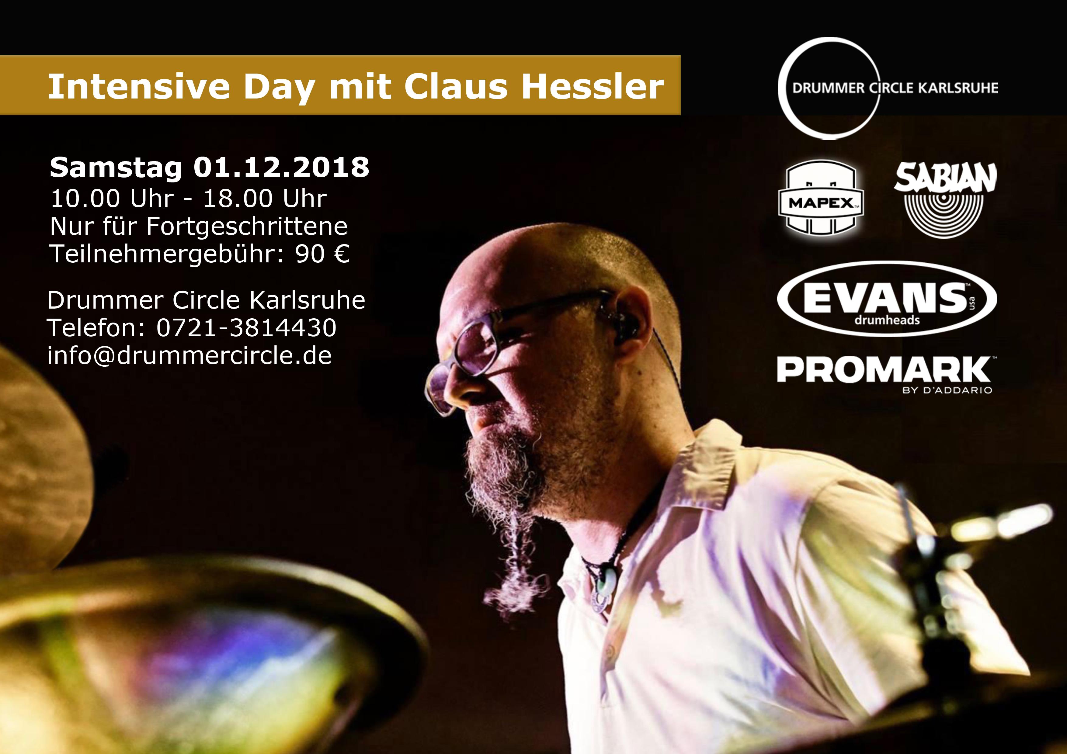 Intensive Day mit Claus Hessler 2018